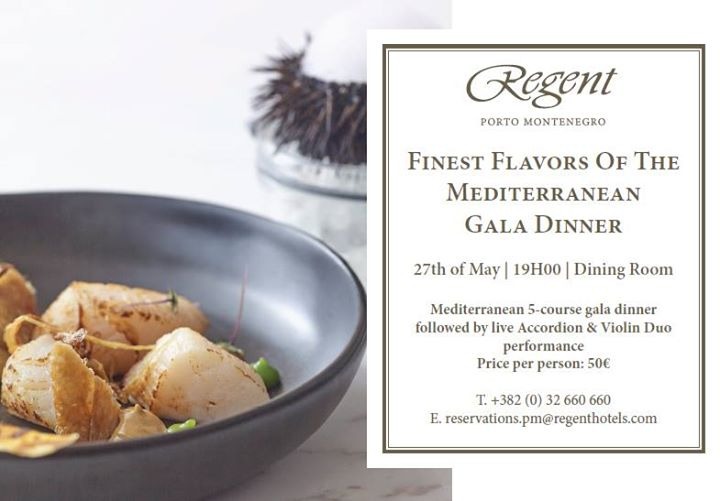 Finest Flavors of The Mediterranean Gala Dinner