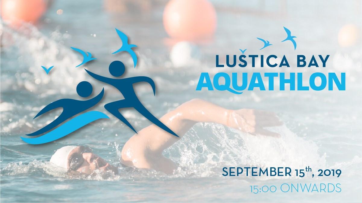 First Lustica Bay Aquathlon