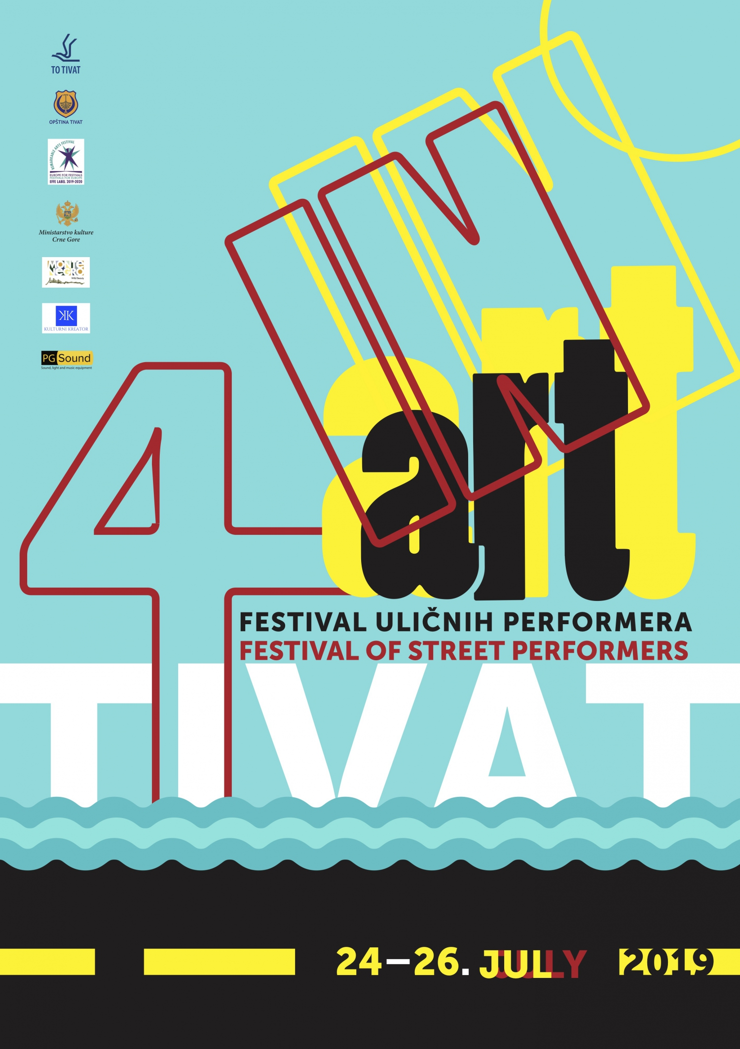 Fourth Festival of Street Performers Tivat