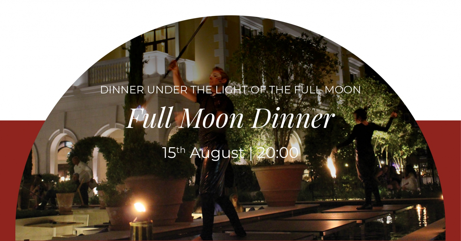 Full Moon Dinner at Murano Restaurant