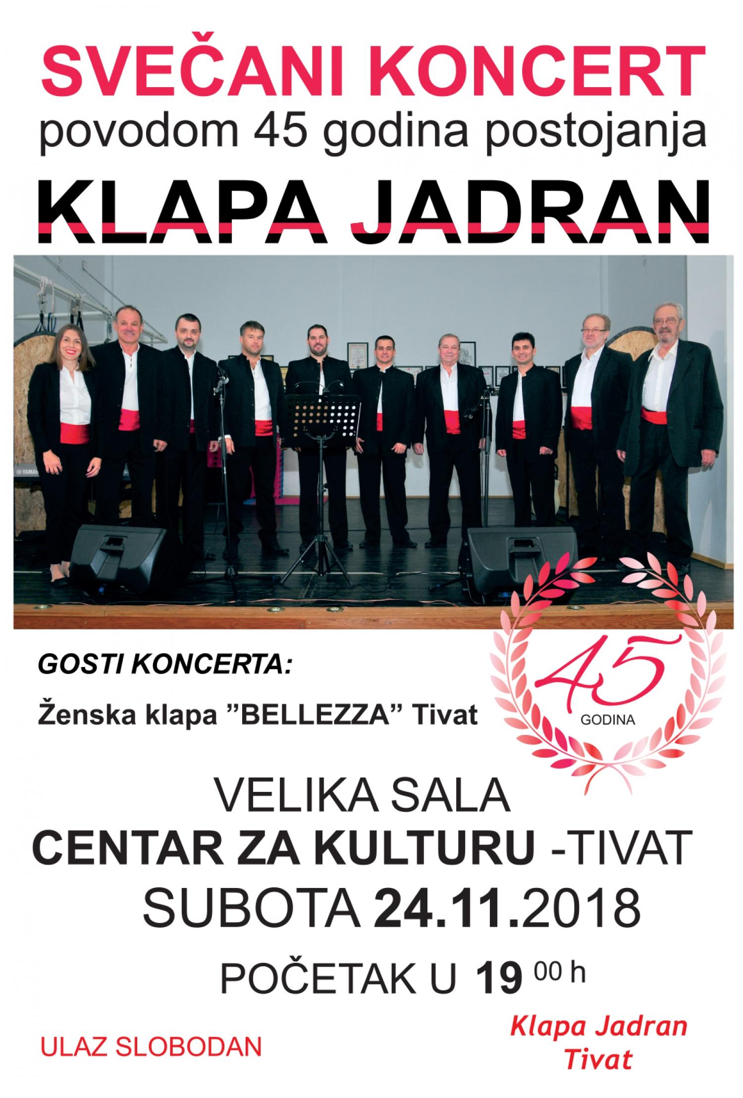 Gala Concert Klapa Jadran