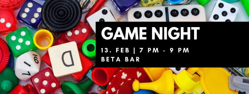 Game Night at Beta Bar