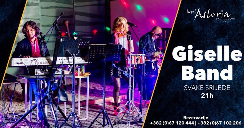 Giselle Band at Astoria Tivat