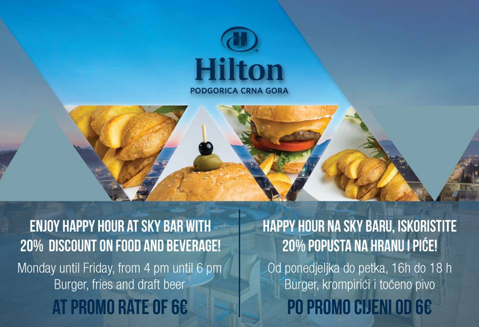Happy Hour at Hotel Hilton
