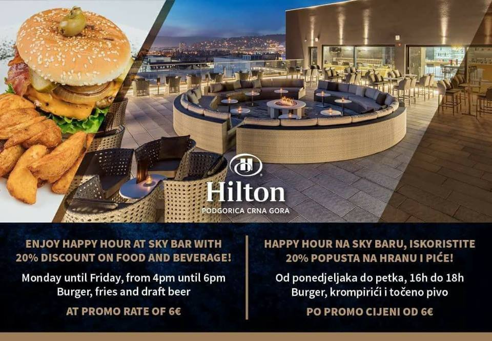 Hilton's Happy Hour