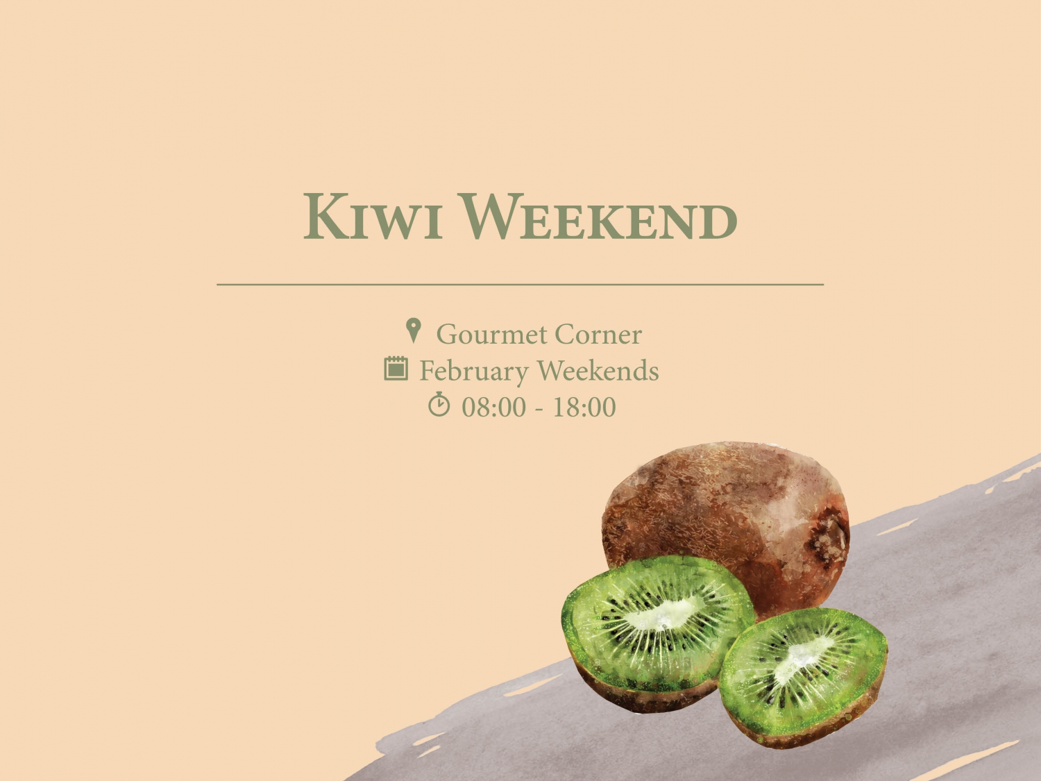 Kiwi Weekend at Gourmet Corner