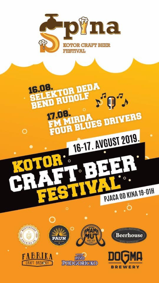 Kotor Craft Beer Festival