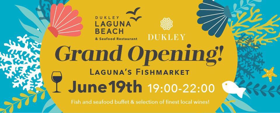 Laguna Beach & Seafood Restaurant Grand Opening