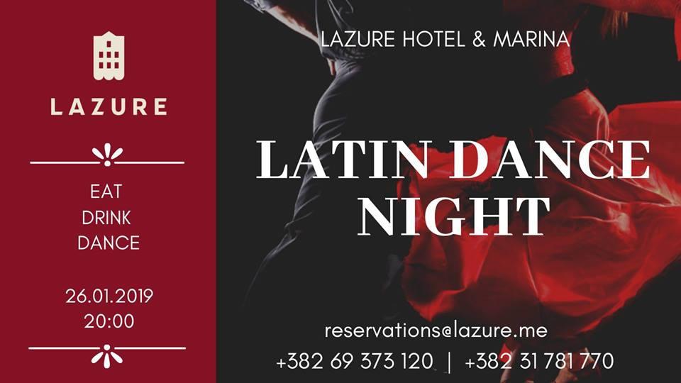 Latin Dance Night at Lazure Hotel & Marina