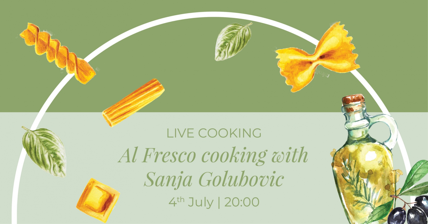 Live At Fresco Cooking With Sanja Golubovic