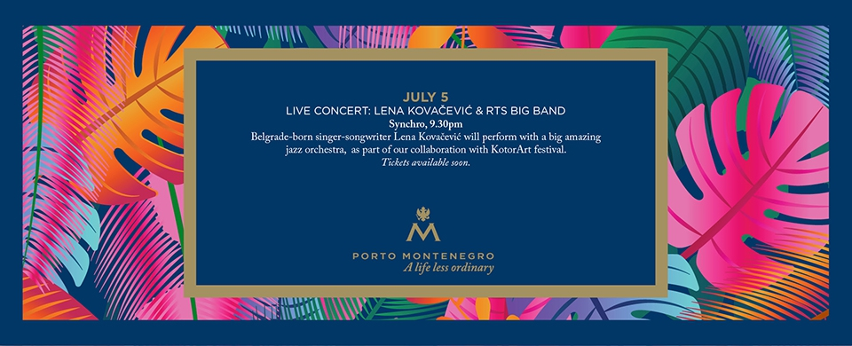 Live Concert: Lena Kovacevic & RTS Big Band