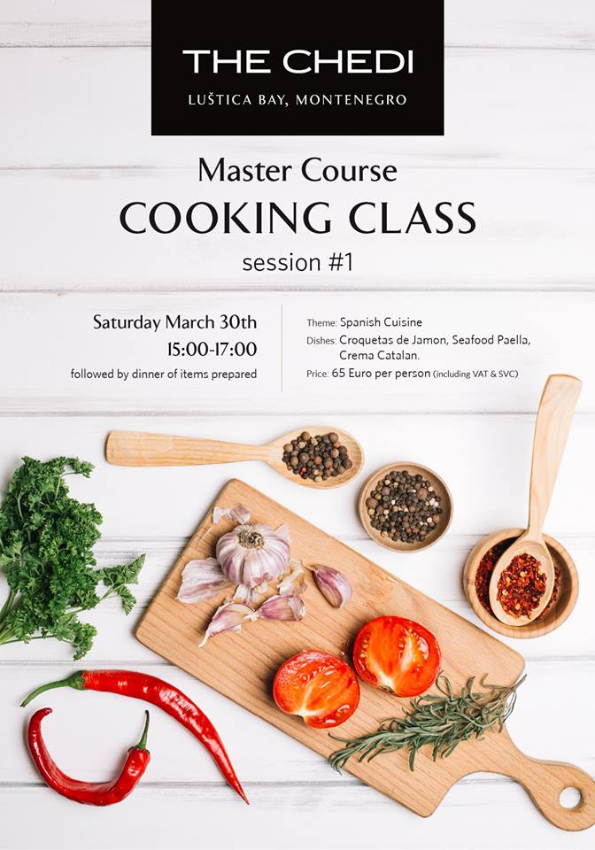 Master Course Cooking Class at The Chedi Lustica Bay
