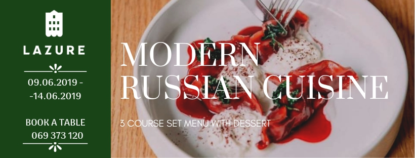 Modern Russian Cuisine