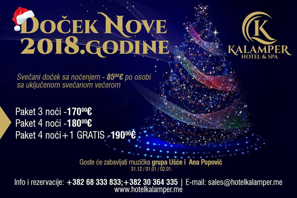 New Year 2018 at Kalamper Hotel & Spa