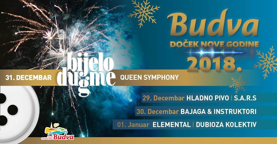 New Year 2018 in Budva