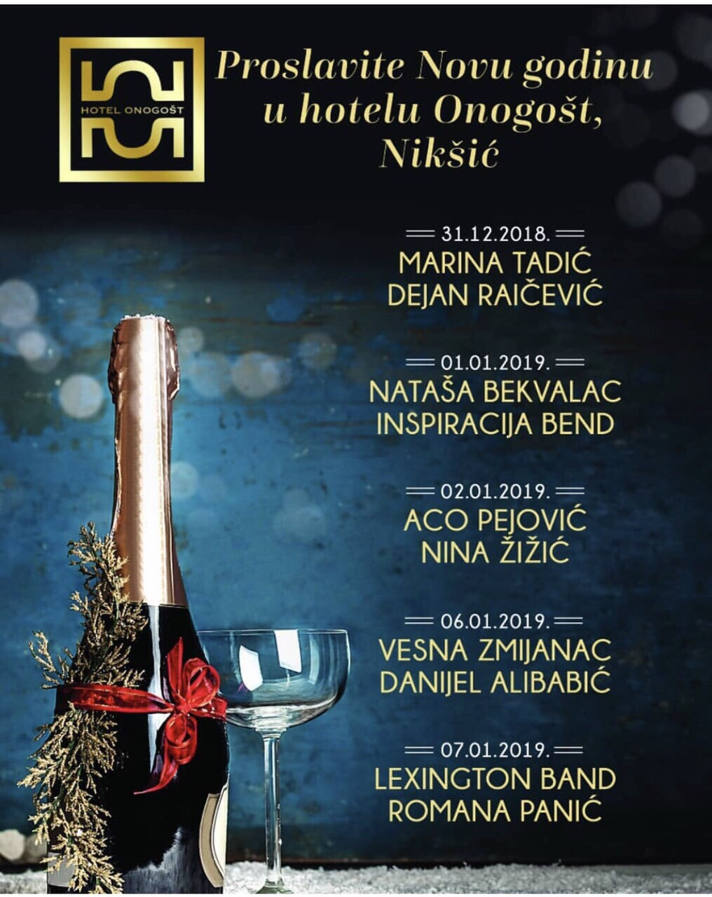 New Year 2019 at Hotel Onogost