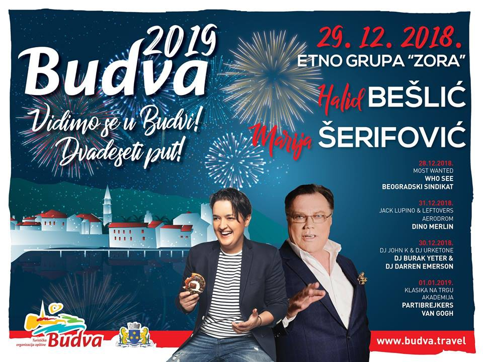 New Year 2019 in Budva