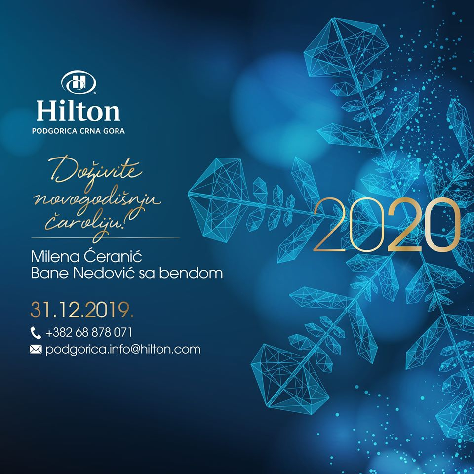 New Year Night 2020 at Hotel Hilton