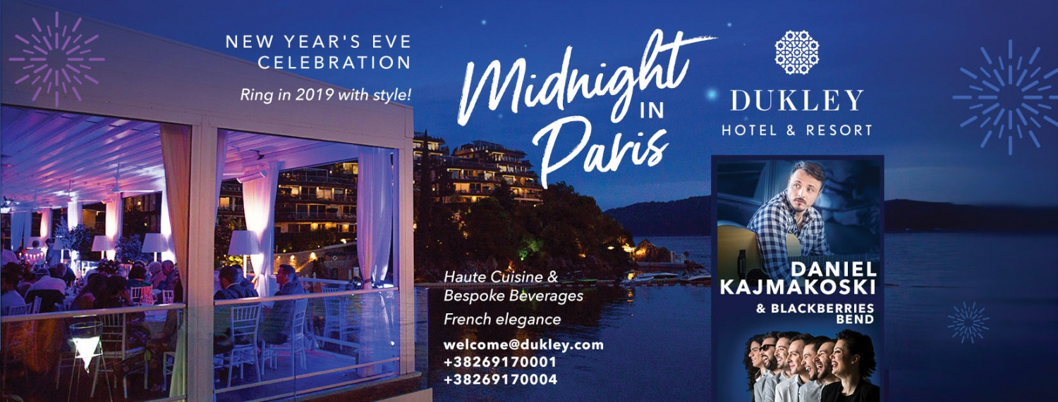 New Year's Eve Celebration - Midnight in Paris!