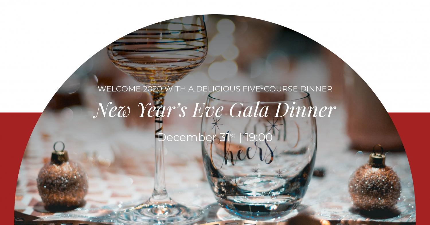 New Year's Eve Gala Dinner at Murano Restaurant