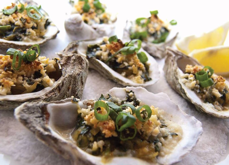 Oyster and Champagne Dinner