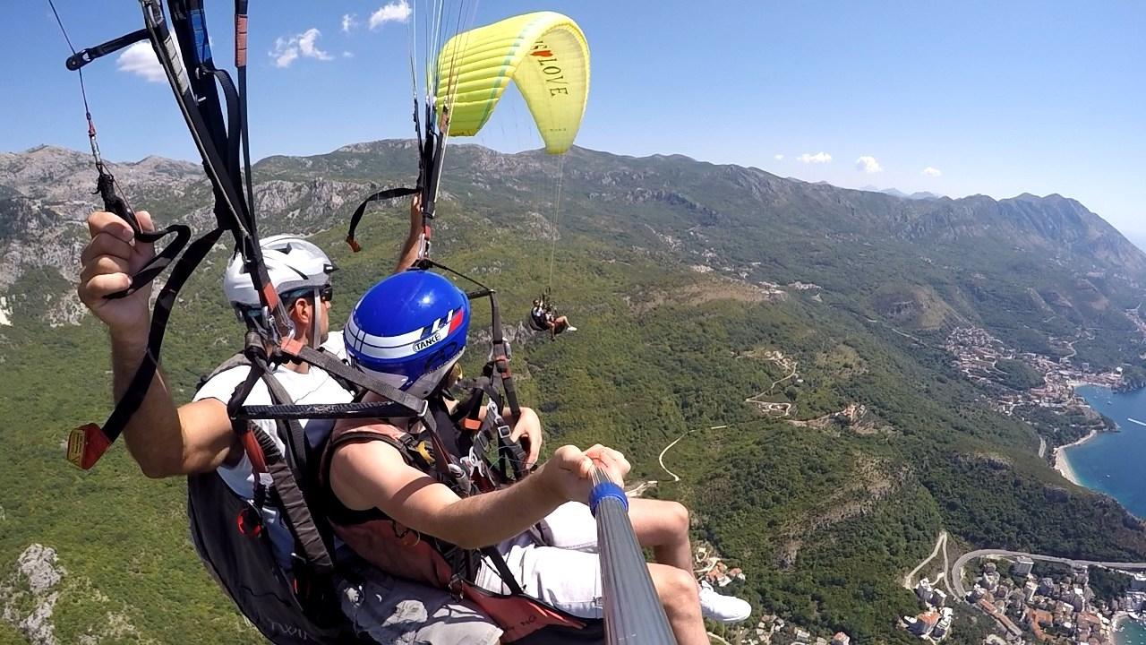 Paragliding Budva Montenegro