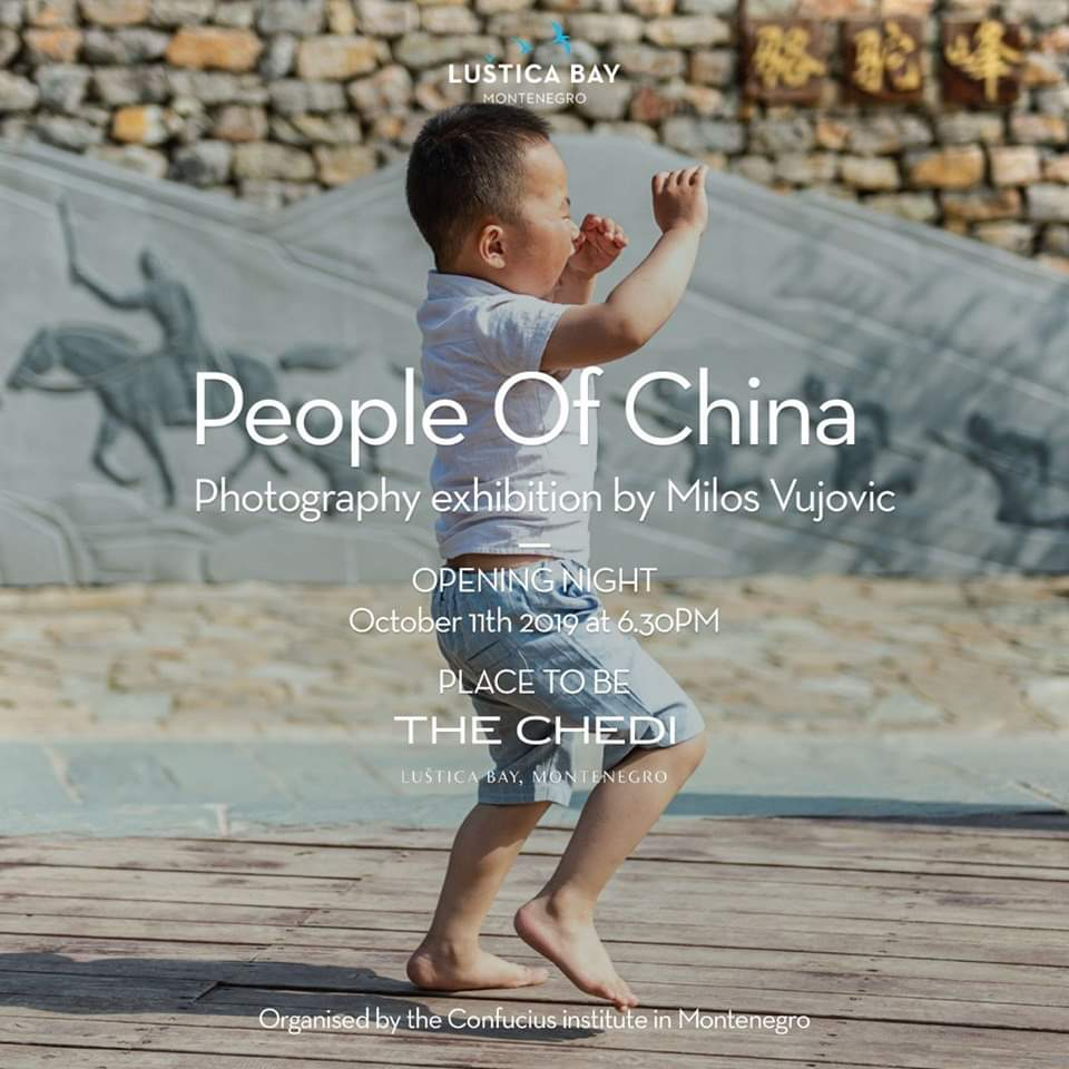 People Of China - Photography Exhibition by Milos Vujovic at The Chedi