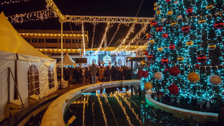 Podgorica's Christmas Bazaar