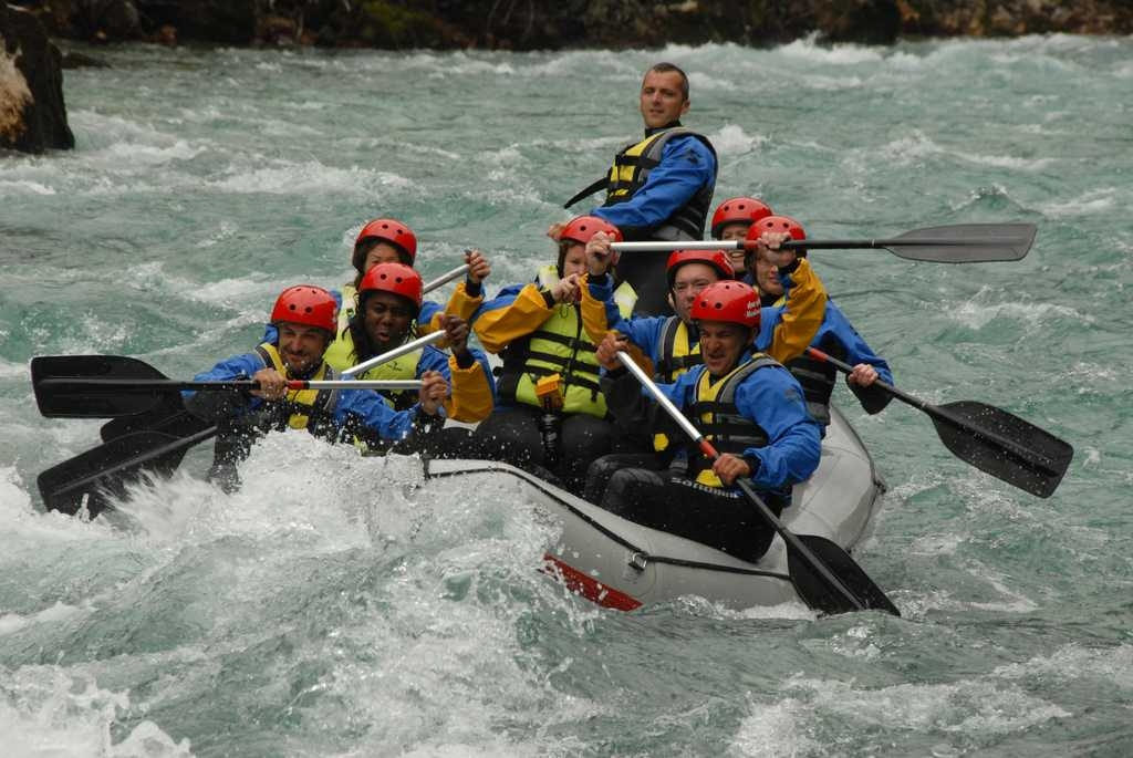 Rafting in May