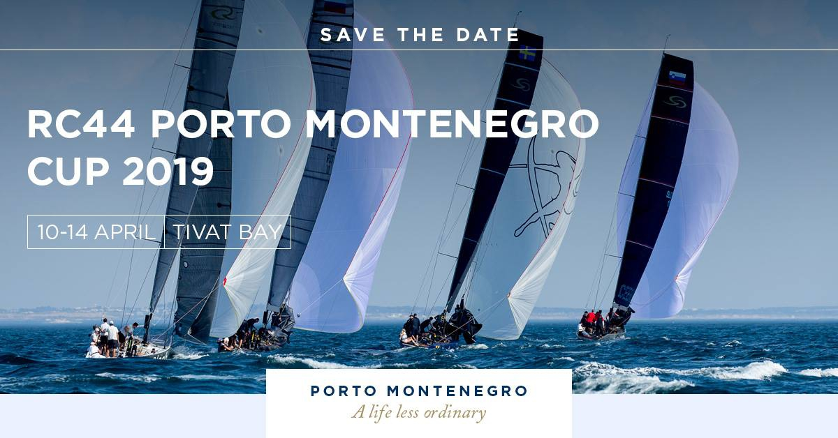 RC44 Porto Montenegro Cup 2019