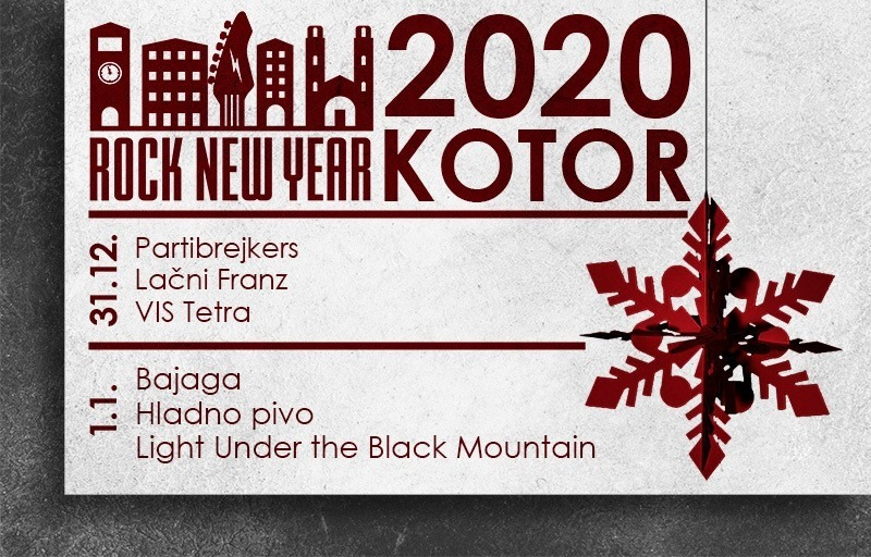 Rock New Year Kotor 2020
