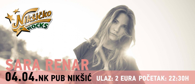 Sara Renar at NK Pub