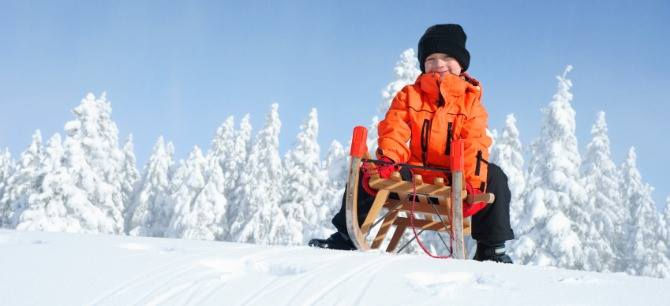 Snow Competition Weekend for Children