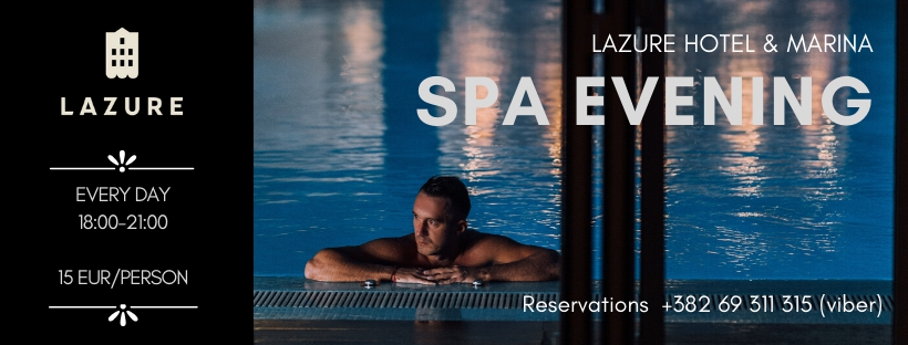 Spa Evening at Lazure