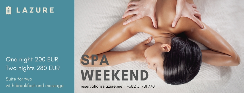 Spa Weekend at Lazure