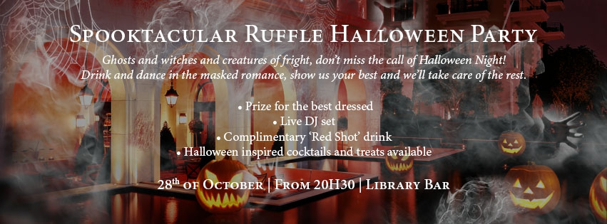 Spooktacular Ruffle Halloween Party