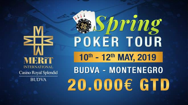 Spring Poker Tour at Casino Royal Splendid