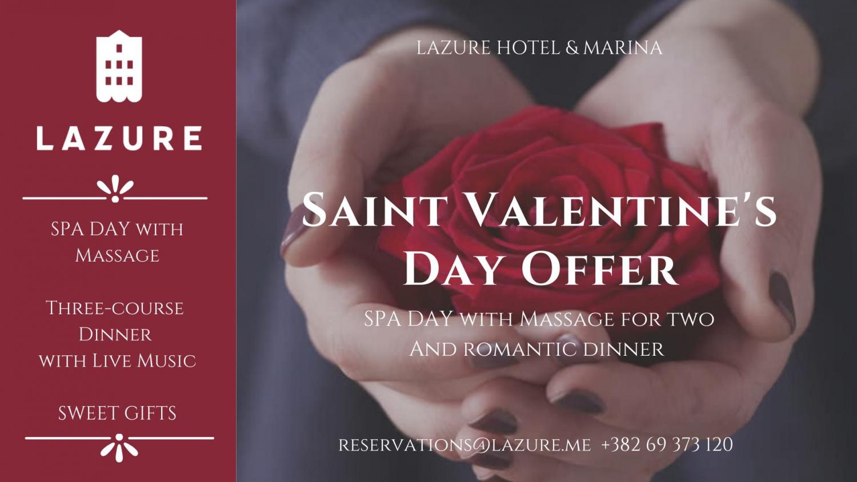 St. Valentine's at Lazure Hotel