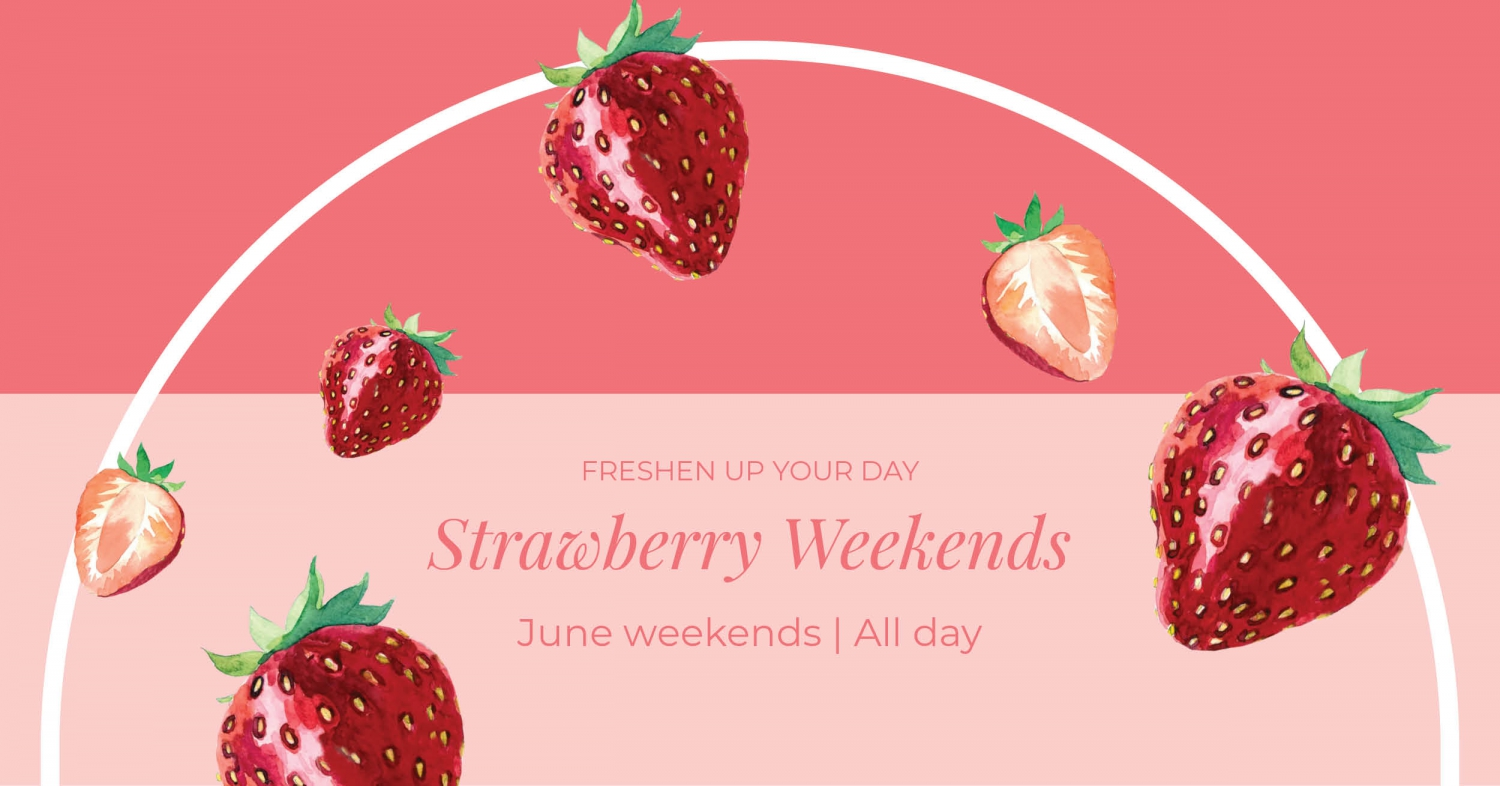 Strawberry Weekends at Regent