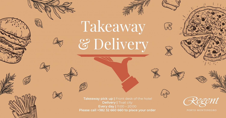 Takeaway & Delivery Menu at Regent Porto Montenegro