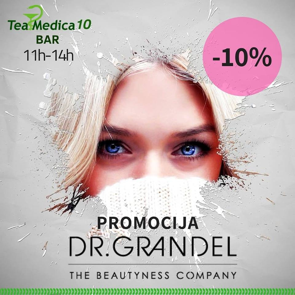 Tea Medica Dr Grandel Products Promotion