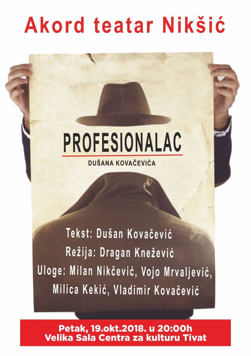 Theater Play: Profesionalac