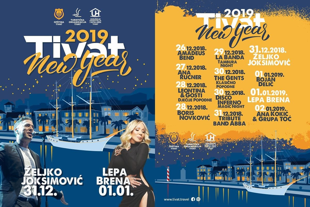 Tivat New Year 2019.
