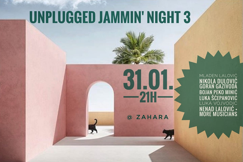 Unplugged Jamming Night at Zahara Concept Store