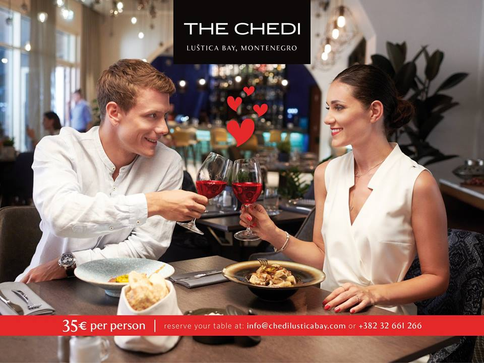 Valentine's Day at The Chedi Lustica Bay