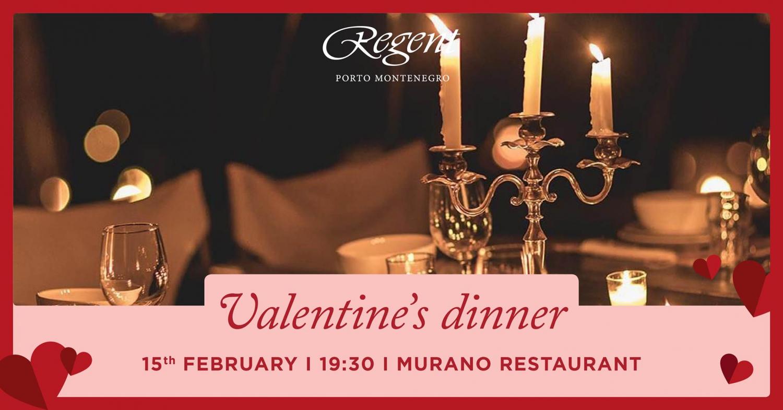 Valentine's Dinner at Murano Restaurant