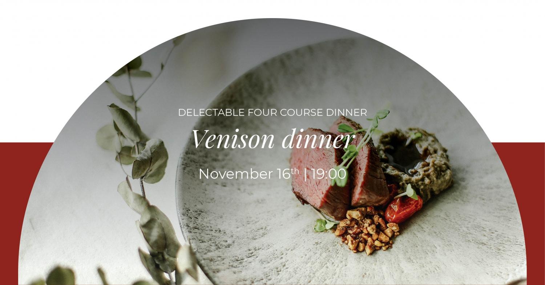 Venison Dinner