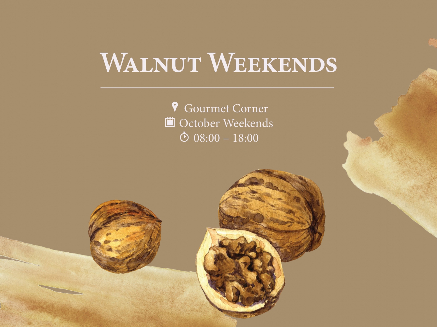 Walnut Weekends