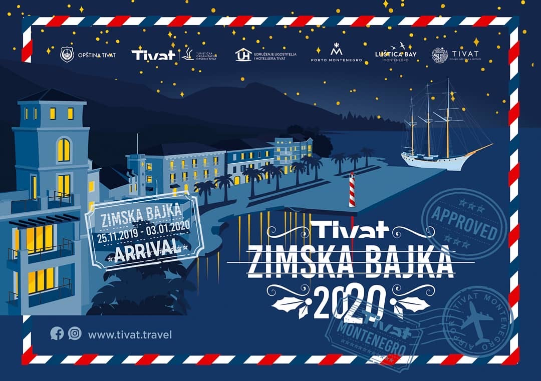 Winter Fairy Tale in Tivat 2020.