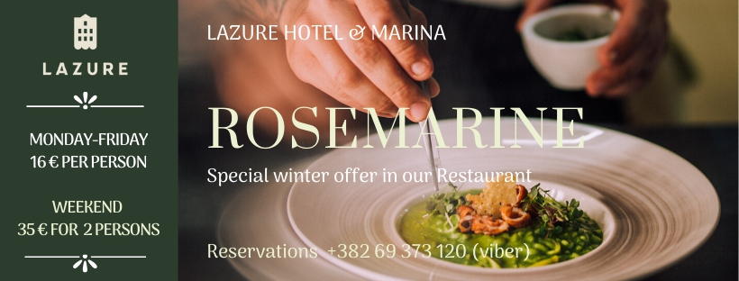 Winter Offer at Restaurant Rosemarine